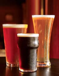 on tap craft brews