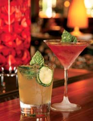 Seasons 52 Birmingham organic cocktails