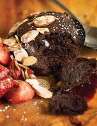 galley and garden chocolate molten cake