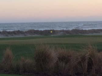 kiawah island 18th hole off atlantic room view