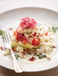 bistro 218 spring salad