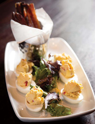 village tavern pimento cheese deviled eggs