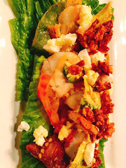 gianmarco's tomato salad shrimp louie
