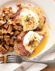 Eggs Benedict - Big Bad Breakfast Photo