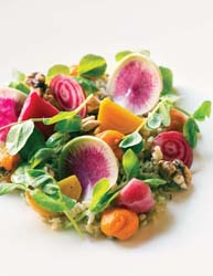 Anson Mills Farro Verde - Bottega Restaurant Photo
