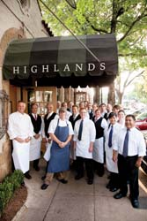 Highlands Bar and Grill staff