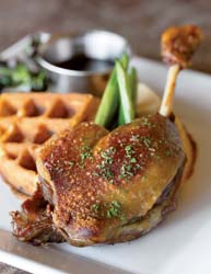 Satterfield's duck and waffle