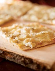 Brock's ross bridge flatbreads