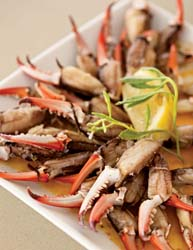 vino crab claws