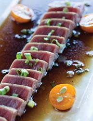 abhi seared tuna