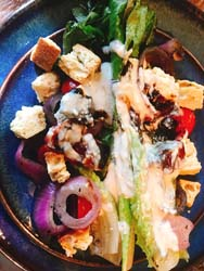 Bellini's wood grilled caesar salad