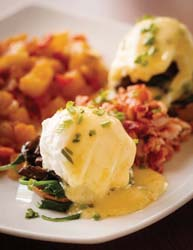 Seasons 52 eggs benedict