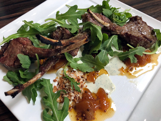 Marre and Allen Lamb lollipops