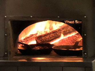 hot and hot fish club wood oven
