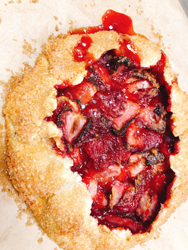 bottegi's strawberry crostata