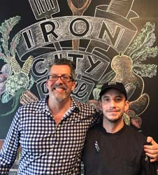 iron city grill james claborn Ian barker
