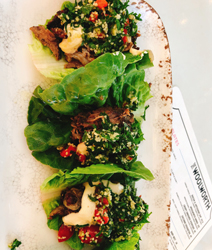 the woolworth lettuce wraps