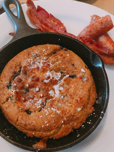dyron's blueberry pancake