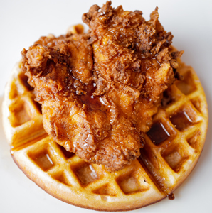 fig tree cafe chicken and waffle