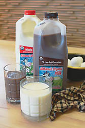 working cows dairy organic milk organic cream orgainic chocolate milk